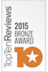 2015 Bronze Award from Top Ten Reviews