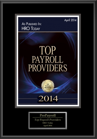 top payroll providers award