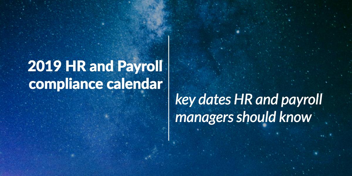 2019-hr-payroll-compliance-calendar