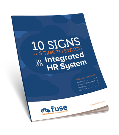 10 Signs it's Time to Switch to an Integrated HR System