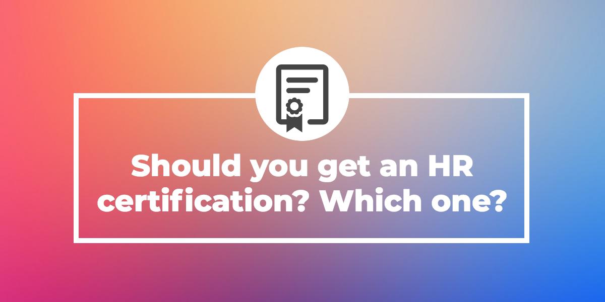 HR-certification