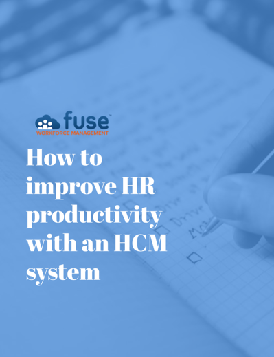 How to Improve HR Productivity with an HCM System