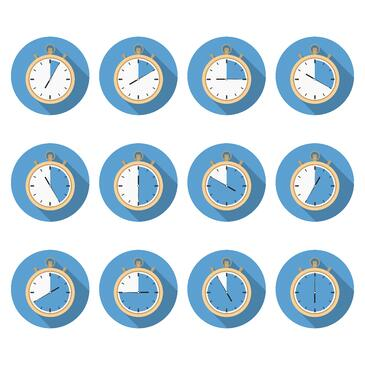 clocks_passing_time
