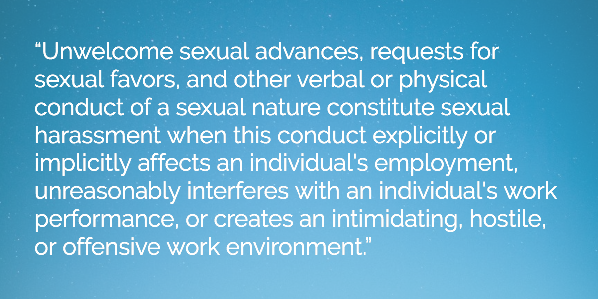 eeoc-sexual-harassment-definition