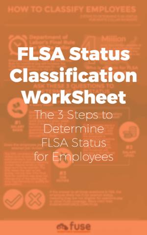 FLSA Status Classification Worksheet