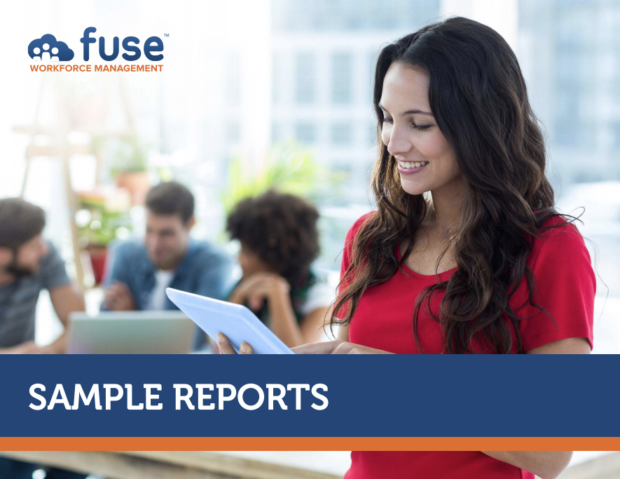 Sample Workforce Software Reports
